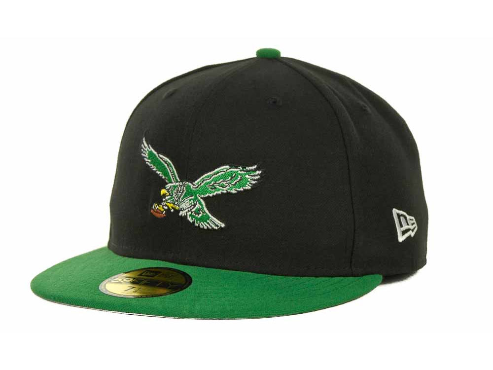 338357dd7ea Philadelphia Eagles New Era NFL Historic Basic 59FIFTY Cap
