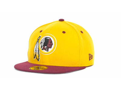 Washington Redskins New Era NFL 2 Tone 59FIFTY Cap