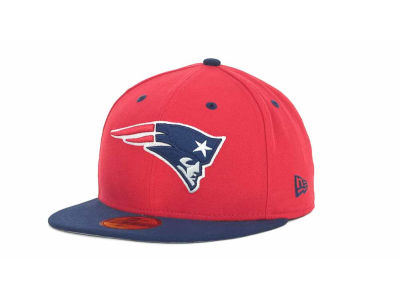 New England Patriots New Era NFL 2 Tone 59FIFTY Cap