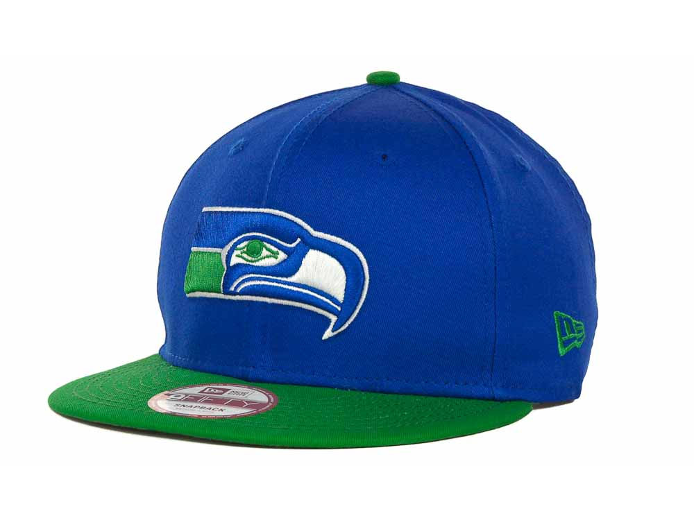 Seattle Seahawks New Era NFL Baycik 9FIFTY Snapback Cap  30c4f050e