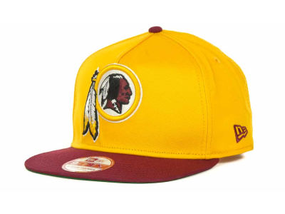 Washington Redskins New Era NFL Team Flip Up A-Frame 9FIFTY Snapback Cap