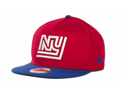 New York Giants New Era NFL Team Flip Up A-Frame 9FIFTY Snapback Cap