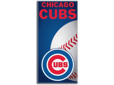 Chicago Cubs Beach Towel Emblem