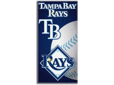 Tampa Bay Rays Beach Towel Emblem