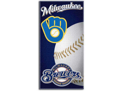 Milwaukee Brewers Fiber Reactive Beach Towel