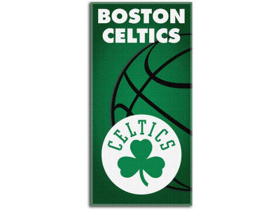 Boston Celtics Beach Towel Emblem