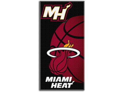 Miami Heat Beach Towel Emblem