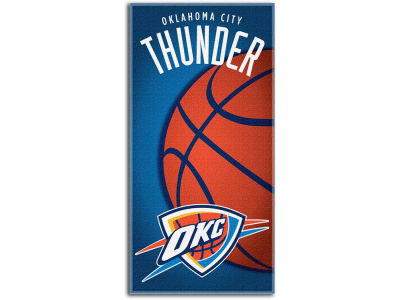 Oklahoma City Thunder Beach Towel Emblem