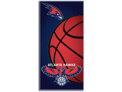Atlanta Hawks Fiber Reactive Beach Towel