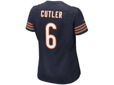 Chicago Bears Jay Cutler Nike NFL Women's Game Jersey