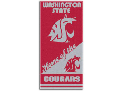 Washington State Cougars Beach Towel Home NCAA