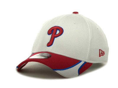 Philadelphia Phillies New Era MLB White Tech 39THIRTY Cap