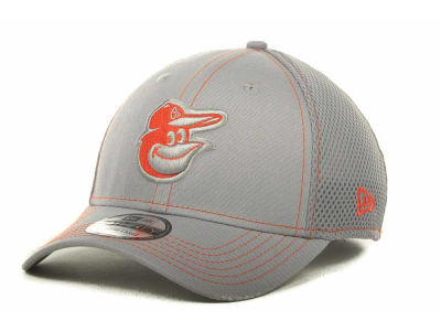 Baltimore Orioles New Era MLB Gray Neo 39THIRTY Cap