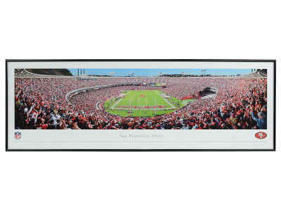 San Francisco 49ers Panoramic Standard Frame