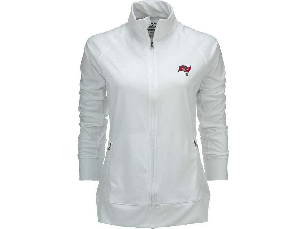 Tampa Bay Buccaneers Cutter   Buck NFL Bucs Womens Jacket XP  244bcc83a