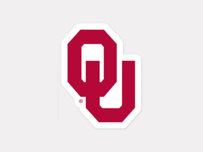 Oklahoma Sooners 4x4 Die Cut Decal Color