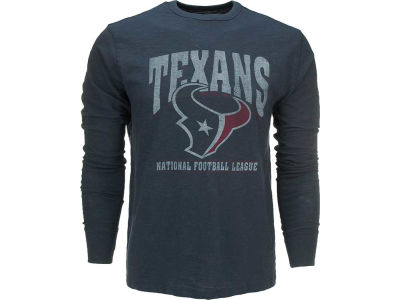Houston Texans '47 NFL Logo Scrum Long Sleeve T-Shirt