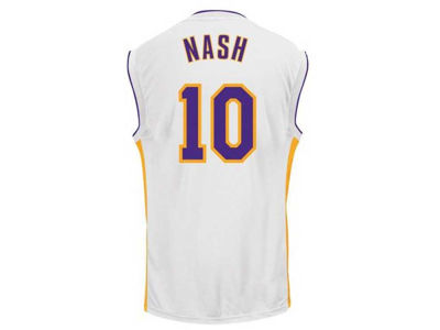 Los Angeles Lakers Steve Nash NBA Youth Revolution 30 Swingman Jersey