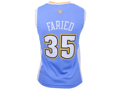 Denver Nuggets Kenneth Faried adidas Youth NBA Revolution 30 Jersey