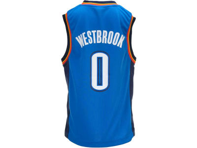 Oklahoma City Thunder Russell Westbrook Youth NBA Revolution 30 Jersey