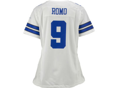Dallas Cowboys Tony Romo Nike NFL Women's Game Jersey