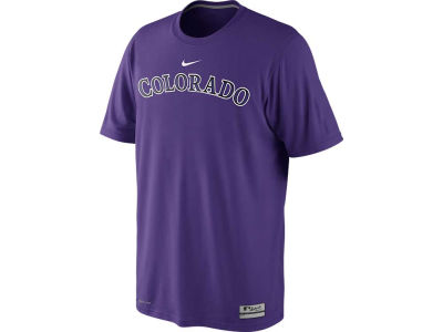 Colorado Rockies Nike MLB Men's Dri-Fit Legend Practice T-Shirt
