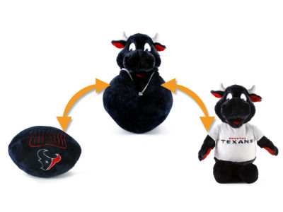 Houston Texans NCAA Flip Outs Plush