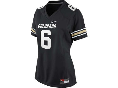 Colorado Buffaloes #6 Nike NCAA Womens Game Football Jersey