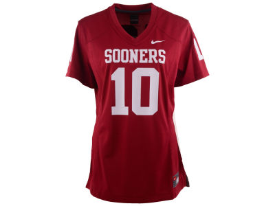 Oklahoma Sooners #10 Nike NCAA Womens Game Football Jersey