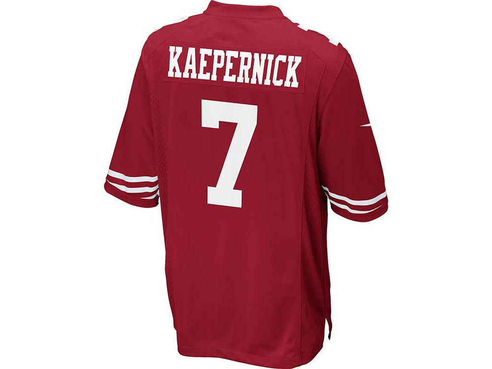 f7aa54b78 San Francisco 49ers Colin Kaepernick Nike NFL Men s Game Jersey ...