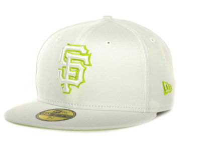 San Francisco Giants New Era MLB White On Color 59FIFTY Cap
