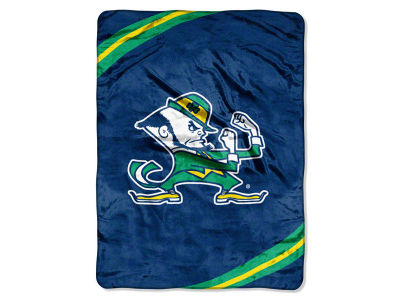 Notre Dame Fighting Irish 60x80 Raschel Throw