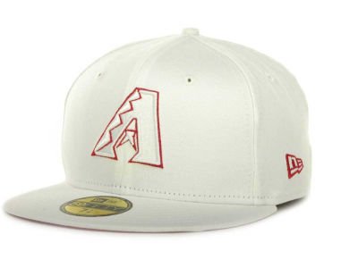 Arizona Diamondbacks New Era MLB White On Color 59FIFTY Cap