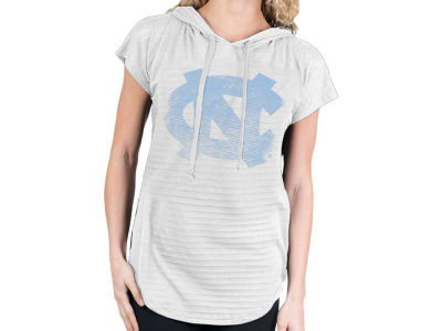 North Carolina Tar Heels NCAA Womens So Fancy Burnout Hood T-Shirt