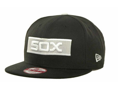 Chicago White Sox New Era MLB Black Ice 9FIFTY Snapback Cap