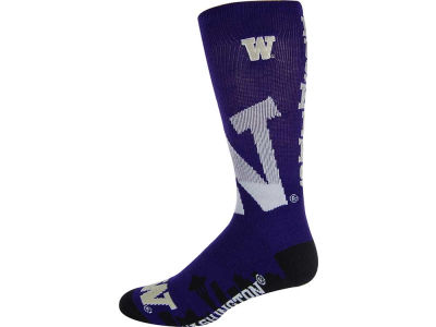 Washington Huskies Skyline City Crew Sock