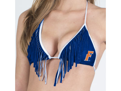 Florida Gators NCAA Fringe Bikini Top