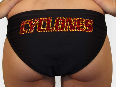 Iowa State Cyclones Miss Fanatic Shimmer Swim Bottom