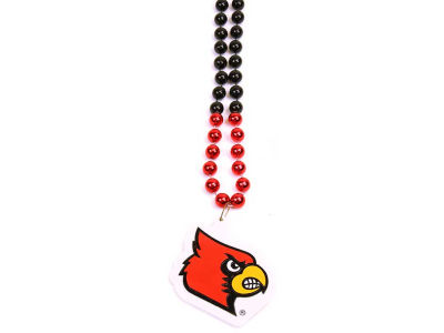 Louisville Cardinals Team Logo Beads-Rico