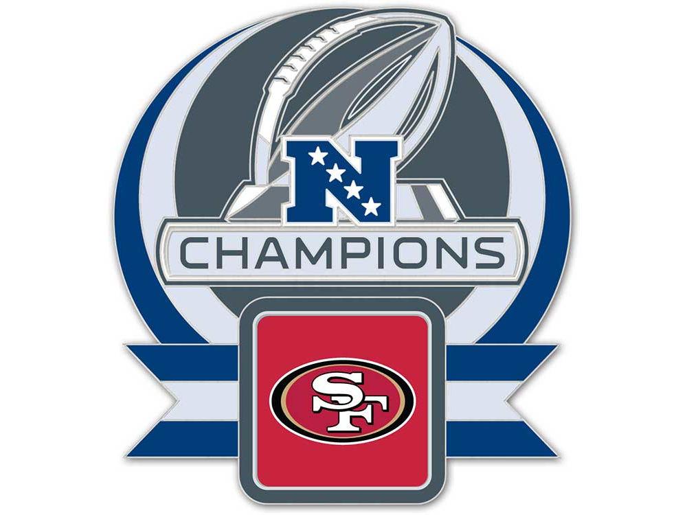 Super Bowl Xlvii Nfl Super Bowl Xlvii Nfc Champ Pin Lids