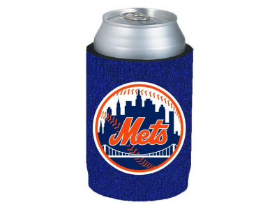 New York Mets Glitter Can Coozie