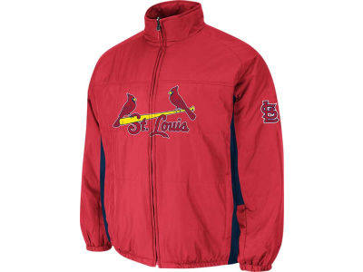 St. Louis Cardinals Majestic MLB Men's Double Climate On-Field Jacket