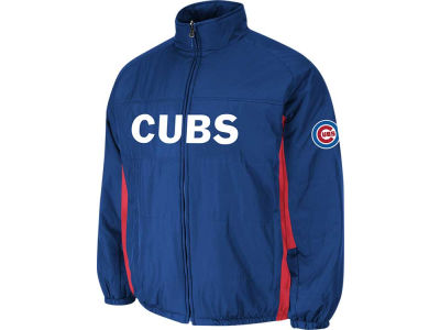 Chicago Cubs Majestic MLB Men's Double Climate On-Field Jacket