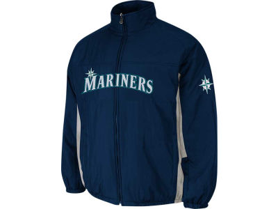 Seattle Mariners Majestic MLB Men's Double Climate On-Field Jacket