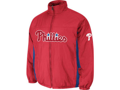Philadelphia Phillies Majestic MLB Men's Double Climate On-Field Jacket