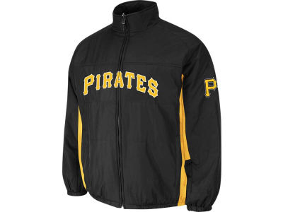 Pittsburgh Pirates Majestic MLB Men's Double Climate On-Field Jacket