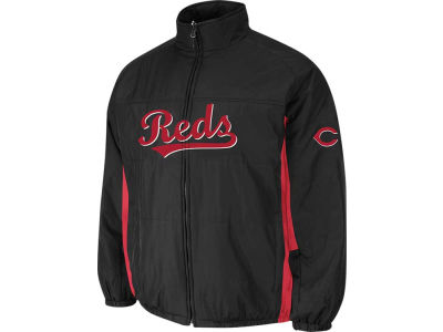 Cincinnati Reds Majestic MLB Men's Double Climate On-Field Jacket