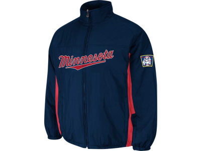Minnesota Twins Majestic MLB Men's Double Climate On-Field Jacket