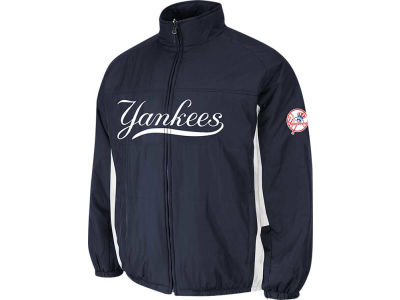 New York Yankees Majestic MLB Men's Double Climate On-Field Jacket