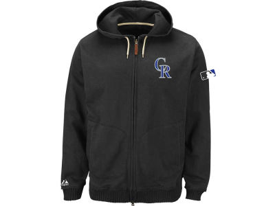 Colorado Rockies Majestic MLB Men's AC Clubhouse Fleece Hoodie